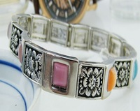 Fashion ls colorful Stone bracelet bangle