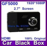 GF5000 Full HD 1080P/30fps Car DVR Cam Recorder 2.7 inch Camcorder Vehicle Dashboard Camera Motion Detection G-Sensor M-JPEG