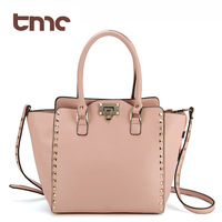 Tmc small ladies punk big bags fashion rivet messenger bag female handbag jy032