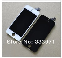 5PCS/LOT LCD For iPhone 5 5G Free Fedex EMS DHL Ship with touch screen Full set Assembly White and black color