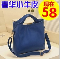 2013 female fashion one shoulder handbag messenger bag women's bags leather bag genuine leather handbag women's