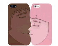 OZAKI Luxury Face Case,Romantic/Sweetheart PC Hard Back Cover Case For Iphone 5 Case For Lover
