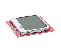 NEW 2013 For Nokia 5110 LCD Module color White backlight adapter pcb 84*48 TK0651