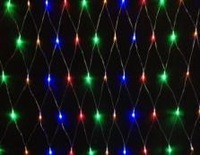 New 2013!  220V Multicolour 96 LEDS 1.5M*1.5cm LED Net String Xmas Cristmas Decoration  Lights Free Shipping