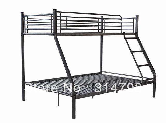 Twin/Full Bunk Bed, Triple Bunk Bed, Triple Sleeper Modern Bedroom Furniture hot sale in UK(China (Mainland))