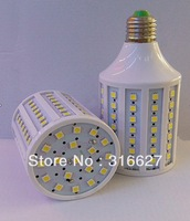 Free shipping 20W LED Corn lights 5050 SMD 102leds E27 base 220V / Led bulb lights