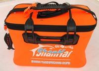 High quality  EVA fishing bucket , fishing box ,foldable water bucket , water proof ,