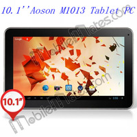 "Aoson M1013 10.1"" Capacitive Touch 1024x600 Android 4.1.1 Quad Core ATM7029 1.2GHz Tablet PC with Auto Screenshot, PIP"