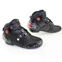 Free shipping  motorbiker boots  botas motorcycles moto shoes motorcycle boots men racing  pro biker,Size 40-45 black