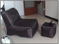 Bean bags Sofa and Chair sets cover 420D oxford bean bag chair set 1pcs sofa and 1pcs chair Free shipping