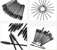 100pcs Disposable Mascara Brush Eyelash Curler Spoolers Makeup Cosmetic Tool