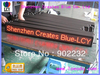 FAST&FREE SHIP/2PCS/lot/16*192DOT/4.75MM/ LED MOVING SIGN/t95.2*11.5cm/indoor/led dotmartix/panels/1588/SCROLLING BILLBOARD/mini