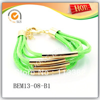 2013 New Trendy Leather Wrap Bracelets For Christmas Gift 12pcs/lot Free Shipping