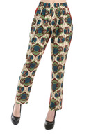 Price hj45 cabbage 2013 decorative pattern chiffon patchwork comfortable double pocket casual pants