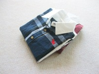CS3151   free shipping Kids boys yarn dyed plaid and white long sleeve  shirt 1 lot/ 5pcs