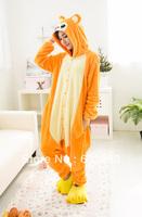 Hot Sale Toilet Version Monkey Unisex Adult Animal Pajamas Cosplay Costume Sleepwear ,Free Shipping!
