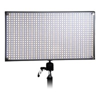 Pro LED 876 Panel Light 52 5W Dimmable Bi Color Batteries Charger
