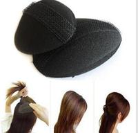 4pcs=2set=1 lot Fashion Hair Puff Paste Heightening Princess Hairstyle Device Hairdisk J018