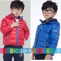 Retail Winter Down Jackets Warm High Quality Coats Windbreaker Boys Down Outerwear,Free Shipping  K3419
