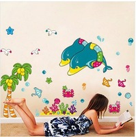 free shipping Wall stickers adhesive PVC  home decoration removable stickers LD2032