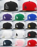 Free Shipping LA Summer Sun Hat Casual Cap Baseball Hat For Women Men 14colours to choose