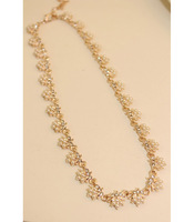 new 2013  Flowers of pearl millet bead necklace for christmas gift