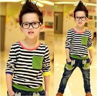 Free shipping new fashion Children's leisure T-shirt, boys t-shirt A012