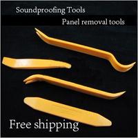 Car Radio Door Clip Panel Trim Dash Audio Removal Pry Tool Kit Plastic Free Shipping