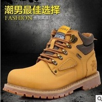 Hot sale 2013 men's winter boots fashion Martin boots lace-up shoes 3 colour eur size 39-44 free shipping