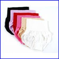 11colors High Waist Women Briefs Hip Up Seamless Cotton Underwear 200pcs Free Shipping