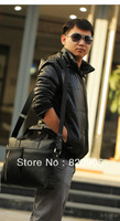 Man commercial handbag fashion single shoulder messenger bag business briefcase genuine leather