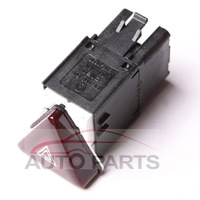 OEM Dark Red Hazard Warning Flash Switch Button For VW Jetta Golf MK5 GTI Rabbit 1KD953509