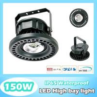 150W led high bay industrial lighting IP65 led canopy light, 150W led flood light, 120lm/W, Cree chip