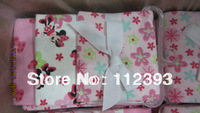 Factory directly sell High quality flannel cotton baby blanket 3 pieces one lot infant towel 3 colors size 75*75cm Free shipping
