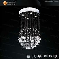 Modern crystal chandelier pendant lamp, modern crystal chandelier lamp Crystal Pendant Lamp Luster  D400x H800mm L4 OM9134W