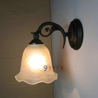 Fashion single head wall lamp balcony wall lights bedroom bedside lamp brief wall lamp