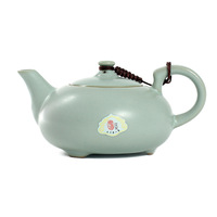 Joy pot teapot kung fu tea three-color