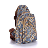 Trend 2013 women's handbag canvas chest pack m236