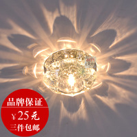 Modern led crystal aisle lights ceiling light corridor lights entrance lights hallway lights ceiling light 2003