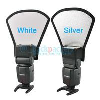 Flash Diffuser Soft Box Silver and white double color For yn560II yn565ex yn560ex yn568ex sb600 sb800 sb900 sb910 580ex 430ex