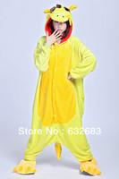 Hot 2013 Fashion New Chinese Dragon Cosplay Adult Animal Pajamas Costumes Pyjamas Sleep Wear. Free Shipping.
