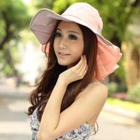 Siggi hat ruffle neck hat female summer sunbonnet female big sun hat beach cap