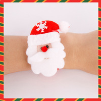 Hot sales! Free shipping!Christmas decoration supplies christmas handcuffs snowily watches