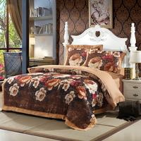 100% cotton four piece set 100% cotton four piece set fashion jacquard satin bedding set 1.8 meters bed