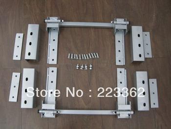 New Complete 2 Door Street Rod Hot Rod Adjustable Hidden Door Hinge Kit