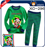 Retail New 2013 Cotton Baby Clothing Pajamas Kids Baby Clothing Set  Pajamas Long Sleeve 2-7Y  XC296