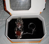 Fashion Japan Anime Cosplay Katekyo Hitman Reborn Vongola Ring metal ring set