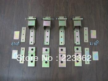 NEW 2 Door Adjustable Heavy Duty Hidden Door Hinge Kit ZINC Rat Rod Hot Rod