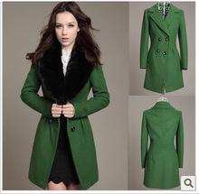 cheap green coat