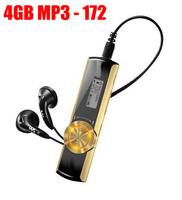 2013 latest FM-radio Digital Screen MP3 Music Player 4G/8GB USB Flash Drive 4gb mp3 players -NWZ-172